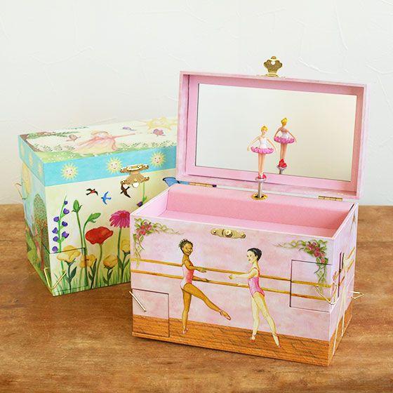 楽天市場 オルゴール バレリーナ 回転 宝石箱 ジュエリーボックス プレゼント 小物入れ おもちゃ 女の子 かわいい Enchantmints エンチャントミンツ オルゴール付きジュエリーbox L Slowworks 女の子 おもちゃ 小物 プレゼント 宝石箱