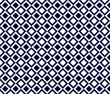 blue checkers fabric by thebline on Spoonflower - custom fabric