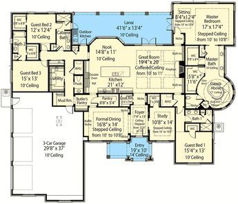 Plan 33146zr Beauty Plus Energy Efficiency House Plans Dream House Plans Smart House Plans