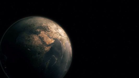 تحميل فيديو مميز للكرة الأرضيه في الفضاء للمونتاج Hd Free Stock Footage Animation Background Stock Footage
