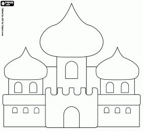 cut out castle template - princess coloring pages coloring and aladdin on pinterest