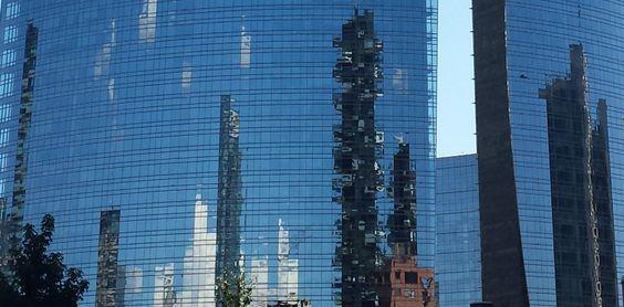 reflections, Porta Nuova, Milano