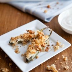 Twice-Baked) Jalapeño Poppers- my spin on the deep-fried original ...