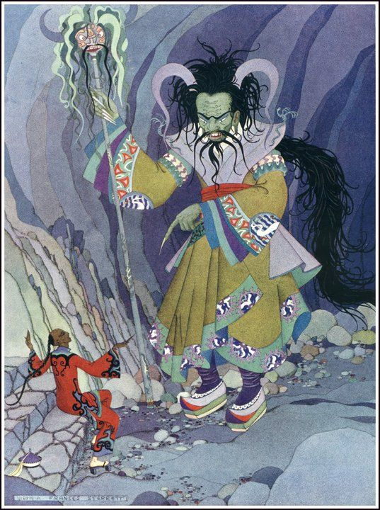 Illustrations to The Arabian Nights (1923-1928)