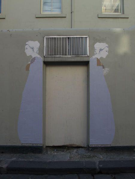 the street work of artist Miso (Stanislava Pinchuk)