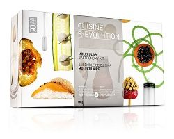 Molecular Gastronomy kit for the serious home cook!  $60 Turn their kitchen into a laboratory!