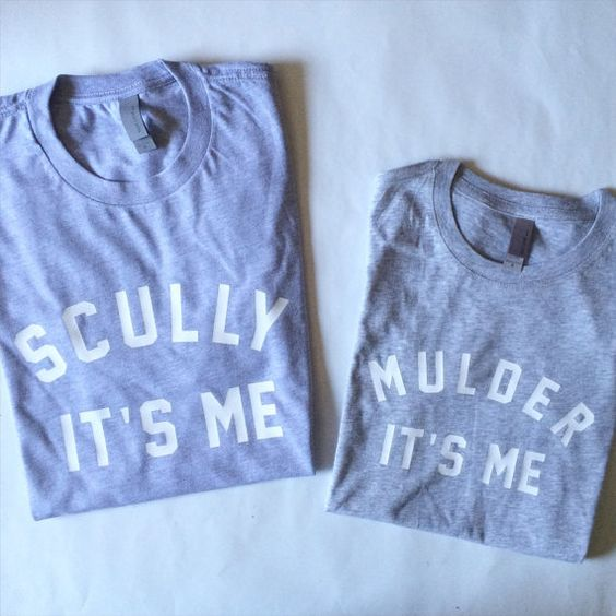 Mulder It's Me Scully Its Me The X Files T Shirt or Tank Top Sweatshirt by TotallyGoodTime  I MUST HAVE THIS!