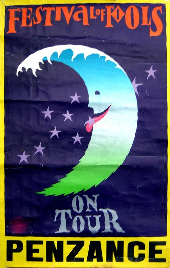 Festival of Fools, Ponsandane Park, Penzance. August 27-31st 1980.