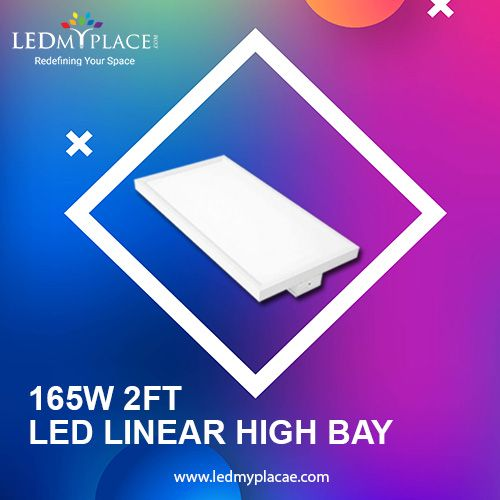 Illuminate Your Interior With New 2ft Led Linear High Bay Cool Lighting Led Bay Lights