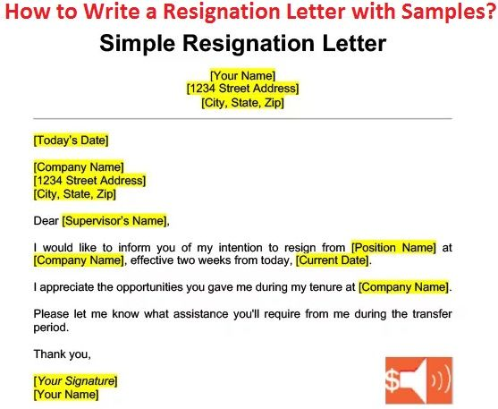Write A Resignation Letter With Date Reason Contact Last Working Day A How To Write A Resignation Letter Resignation Letter Formal Resignation Letter Sample