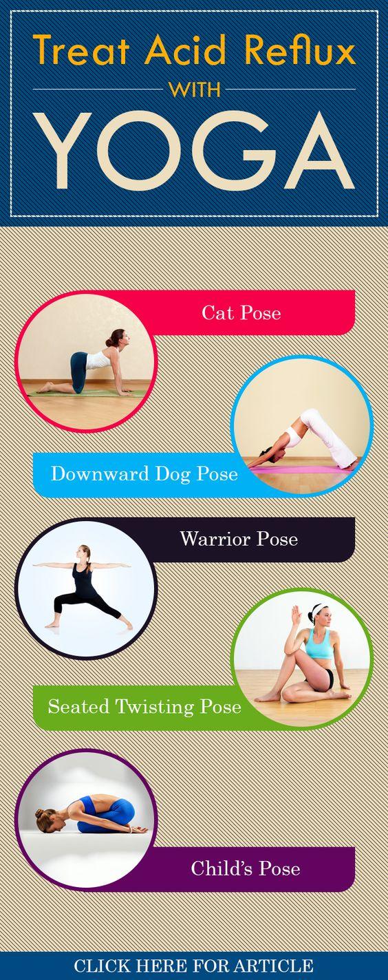 5 Best Yoga Poses For Acid Reflux
