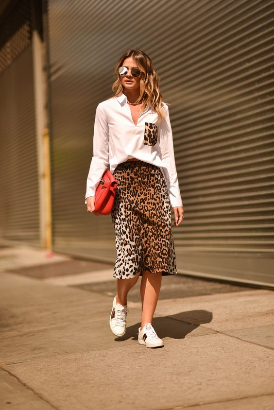 Look NYFW: Animal Print Lover | Thássia Naves