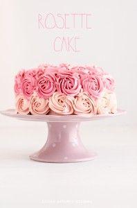 Rosettte Cake