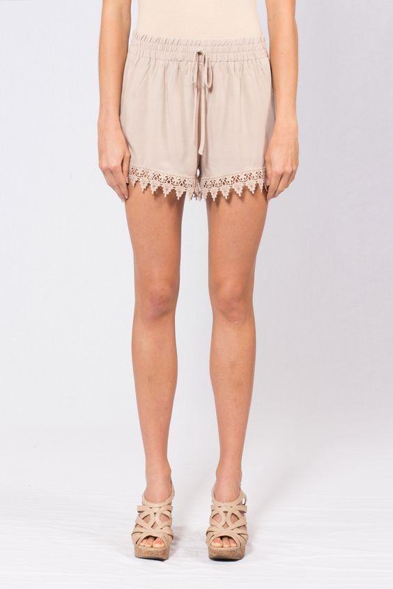 Carefree Crochet Shorts