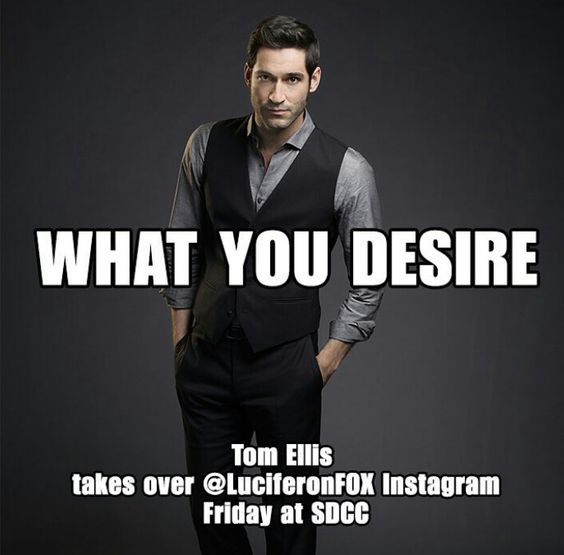 Tom Ellis & Lucifer Series