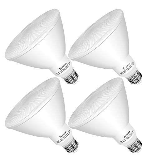 Suneon Led Bulbs Daylight Par38 Spot Light 5000k Dimmable 13w 100w Equivalent Spot Light Bulb 40degree 120v E26 Ul Listed Bulb