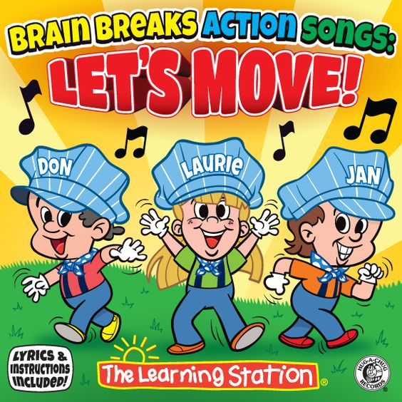 Brain Breaks Action Songs: Let's Move! NEW CD Available NOW! : The Learning Station Blog