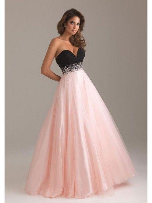 Ball Gown Sleeveless Beading Sweetheart Satin Floor-length Dresses