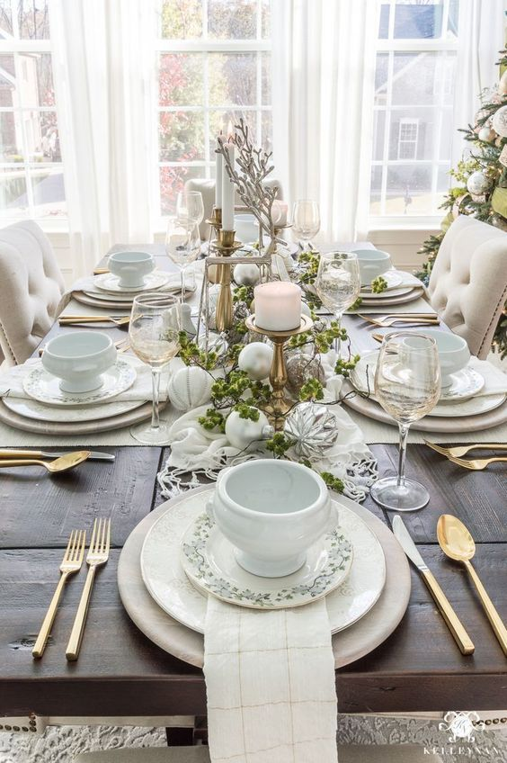 Decorate Your Dining Room in White