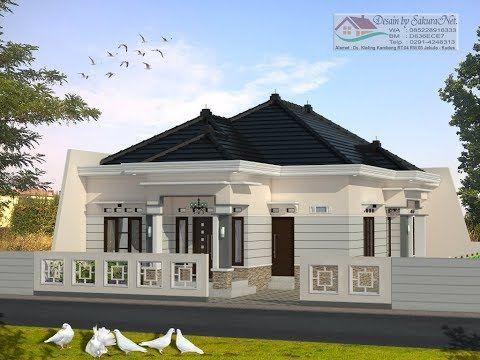 Rumah Minimalis Lantai 1 Modern House 9x17 Youtube Bungalow Design Bungalow House Plans Simple House Design