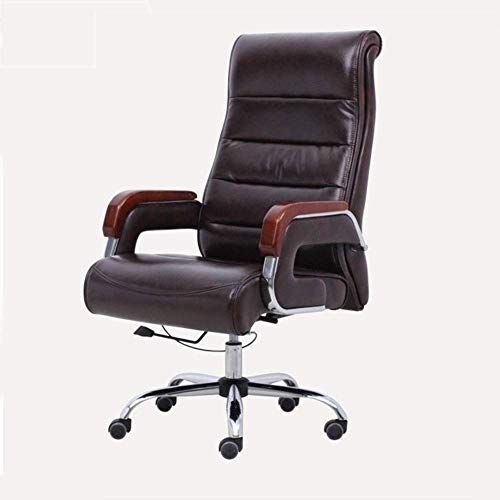 Wxf Office Desk Chair Executive Antique Style Pu Leather