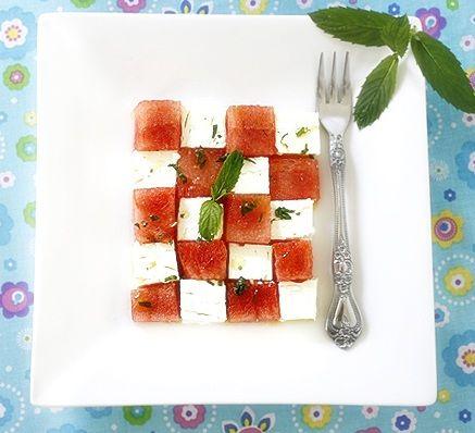 La Table De Nana: Watermelon ~Feta Salad~