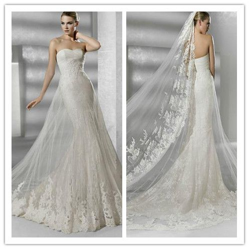 2012 New Design Mermaid Wedding Dress (DS2)