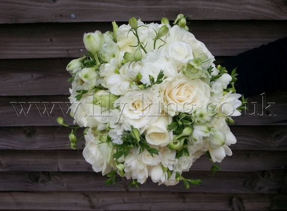Pretty whites Brides Bouquet, by Lily King Weddings
