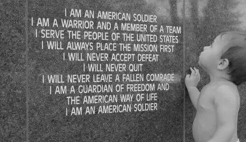 Troops - American soldier