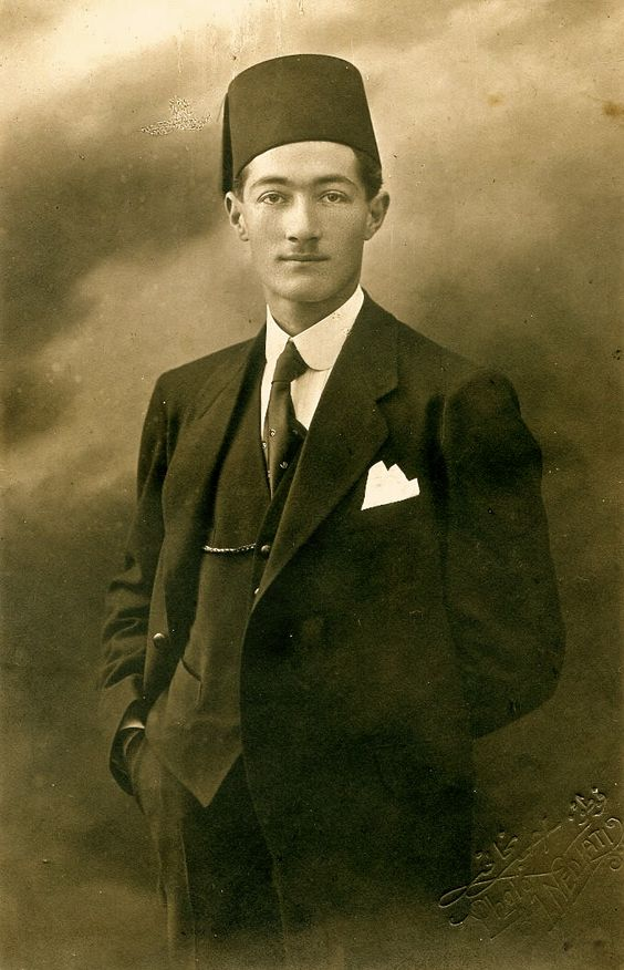 Turkish gentleman, circa 1920