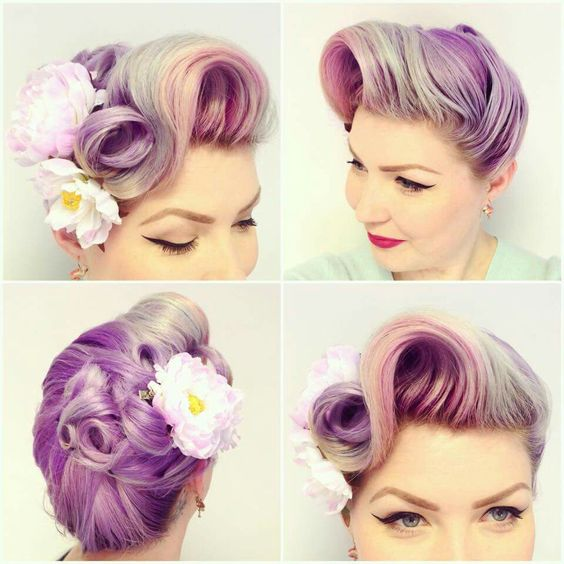 Diablo Rose Retro Hairstyle    *the color looks very similar to mine currently*