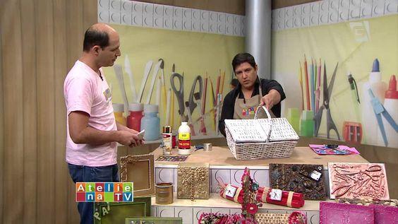 Ateliê na TV - TV Gazeta - 04.09.15 - Léo Oliveira