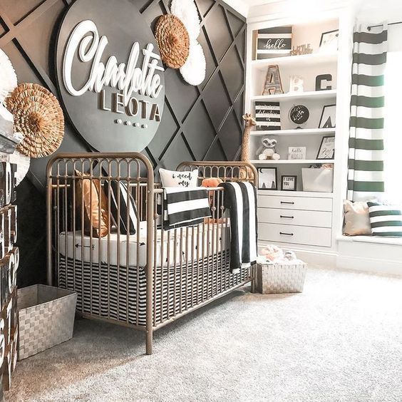 Top 10 Black Nurseries Trend Roundup Baby Room Decor Baby