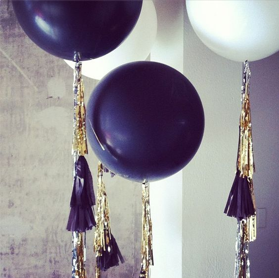 big tassel balloons from our shoot!
