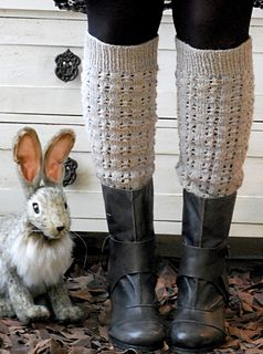some cloudy day by tiny owl knits (free leg warmer pattern)