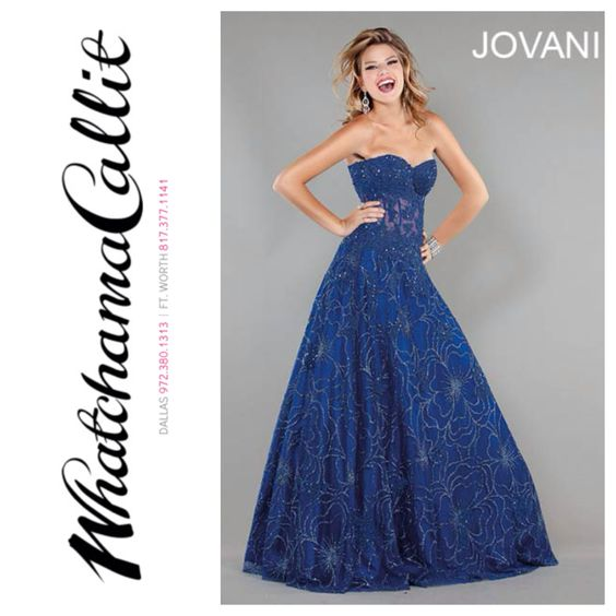 Jovani Prom Dress at Whatchamacallit Boutique  #promdress #jovani