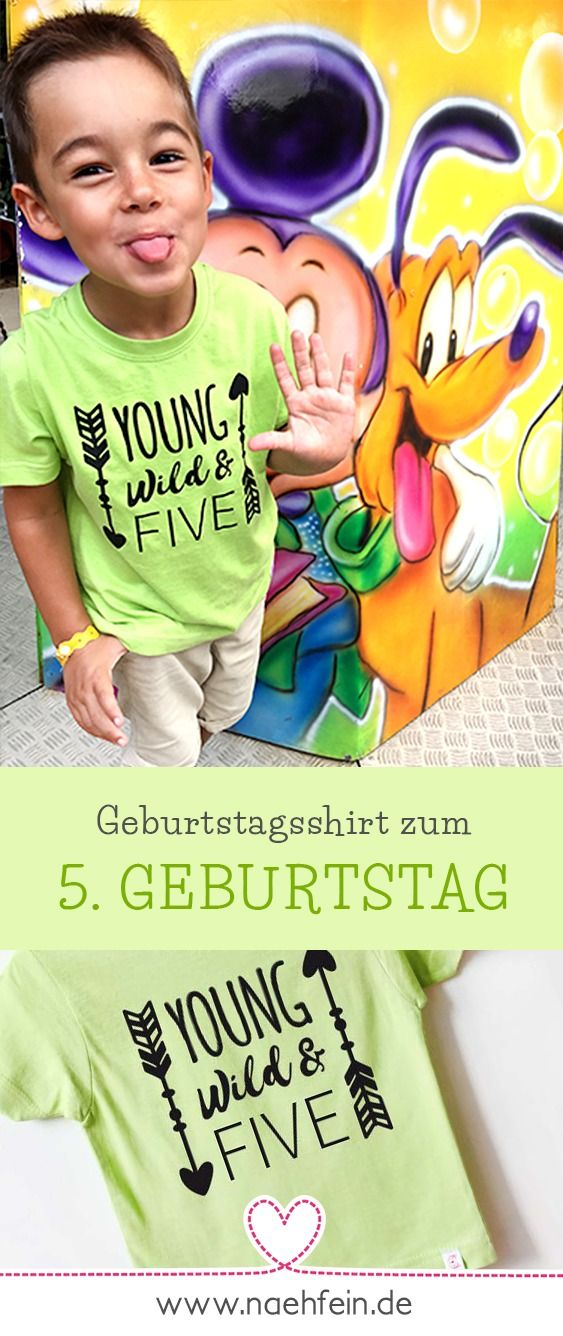 Kreative Geburtstagsshirts Fur Kinder Kindergeburtstag Jungen