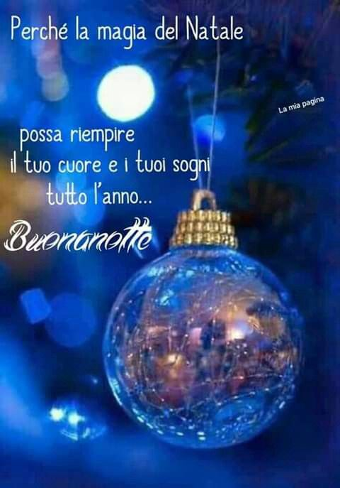 Immagini Di Buona Notte Di Natale.Buonanotte Natalizia Foto Di Natale Buon Natale Natale