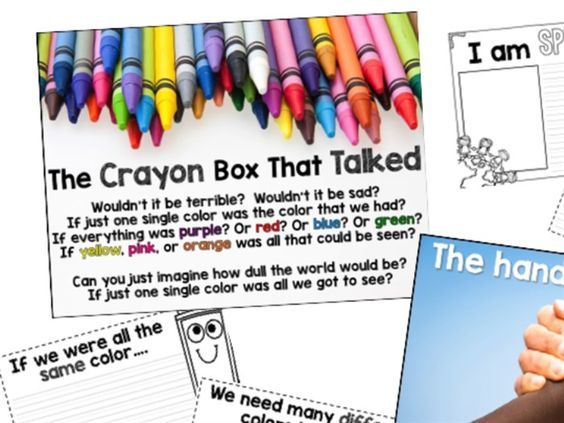 The crayon box that talked activities crafts and more check all of