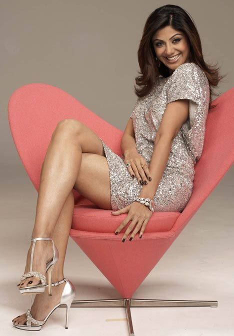 Sexy Celebrity Legs Shilpa Shetty: