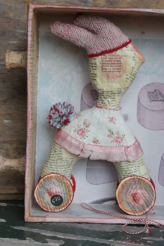 Running Away Rabbit, Julie Arkell | doll | Pinterest ...