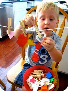 Toddler Approved!: Quick Challenge: Leaf Patterns