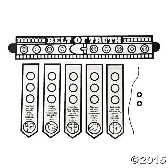 belt coloring page - colors armors and armor of god on pinterest