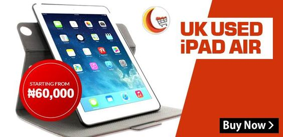 #UK   #USED   #iPADAIR   starting from ₦60,000 at #BlessingComputers Limited Browse at http://www.blessingcomputers.com/