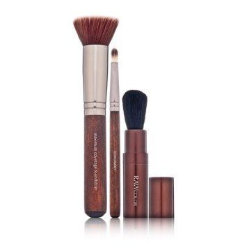 Raw Natural Beauty Raw Color Perfect Trio Mineral Brush Set 3 piece -- Want to know more, click on the image.
