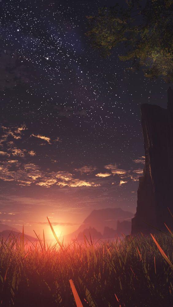 Pin Oleh Kaguya Wistalia Di Drawings Di 2020 Pemandangan Anime Pemandangan Khayalan Fotografi Alam
