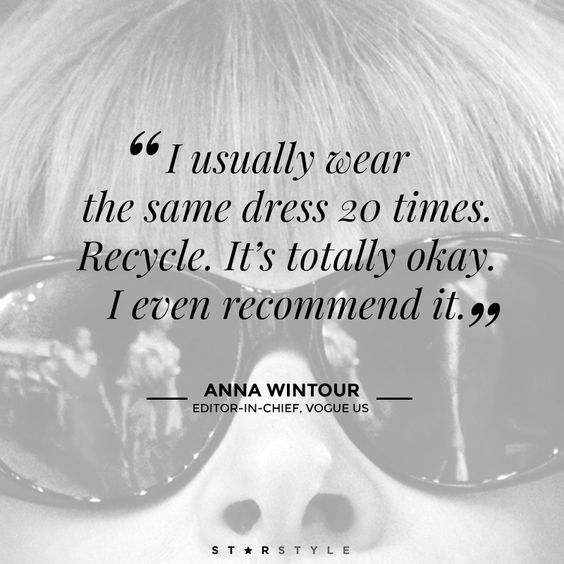 anna wintour quotes - Google Search: