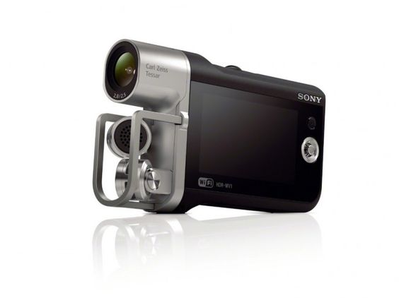 Sony's HDR-MV1 Camcorder Video Recorder