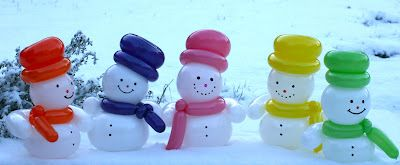 """Great site for balloon creations! """"The Very Best Balloon Blog: Sue's Recipes"""""""