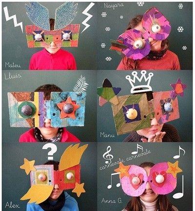 Carnaval. Máscaras.